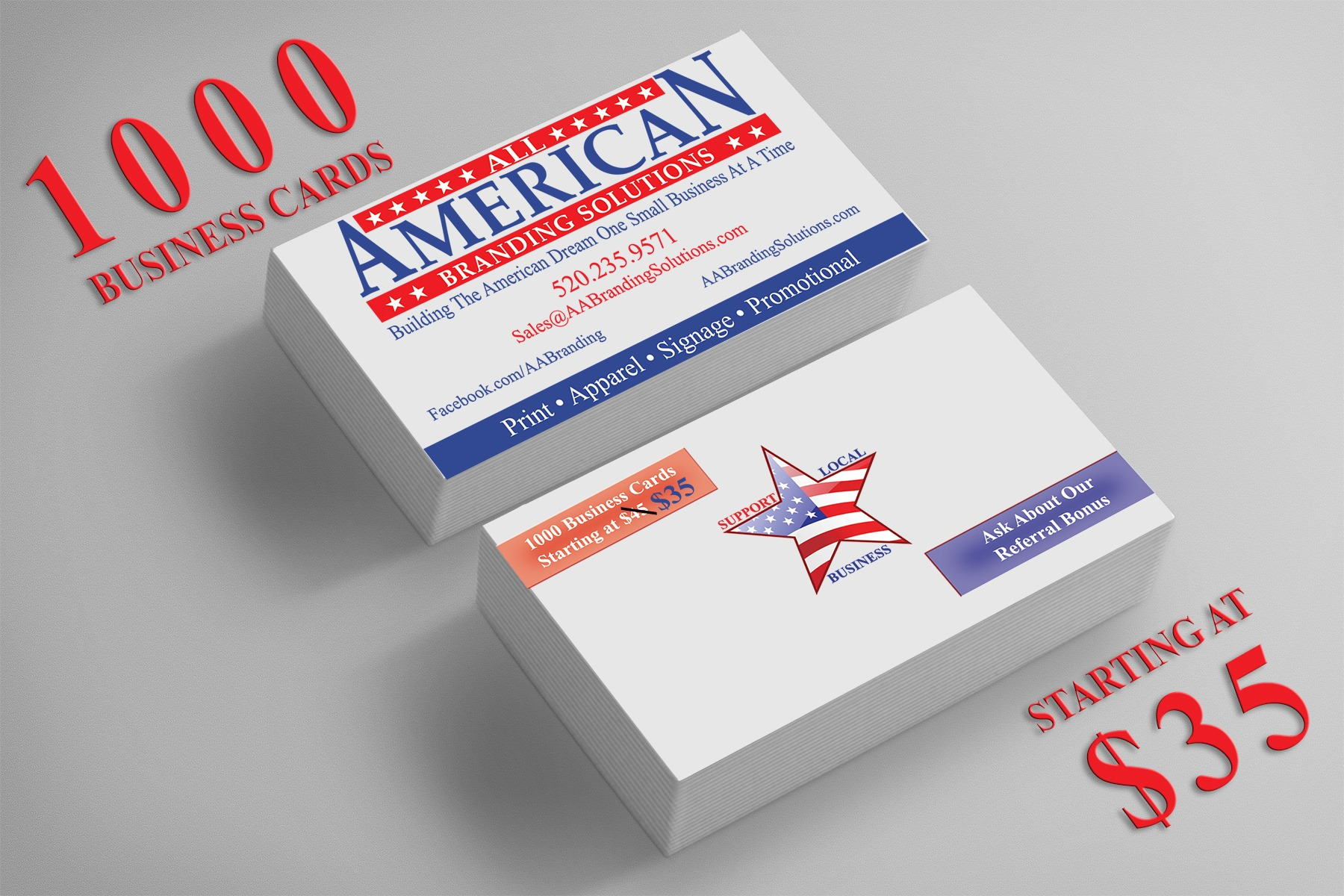 All American Branding Solutions | PRINT. APPAREL. SIGNAGE. PROMOTIONAL.